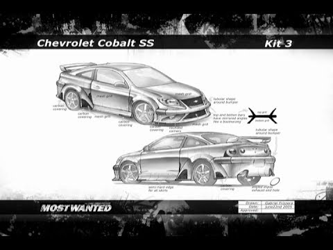 NFS: Most Wanted Rides - Body Kits and Concepts (Kits)