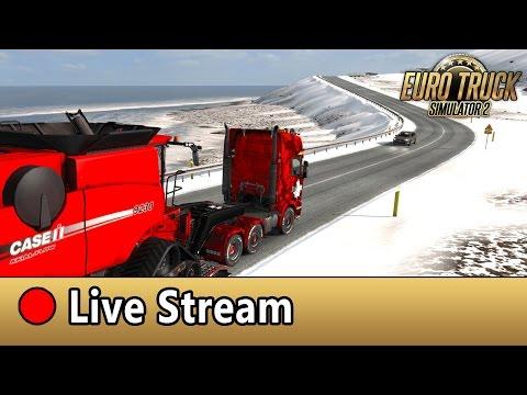 [LIVE] ETS2 von Russland bis nach Island über 3000km!