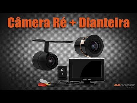 Camera De Re Dianteira Traseira Tech One Connect Parts Youtube