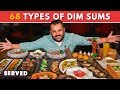 India's Largest Dim Sum Menu | 68 Types Of Dim Sums And Dumplings | Delhi Food Reviews | PaPaYa