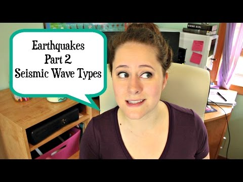 Geology: Seismic Wave Types