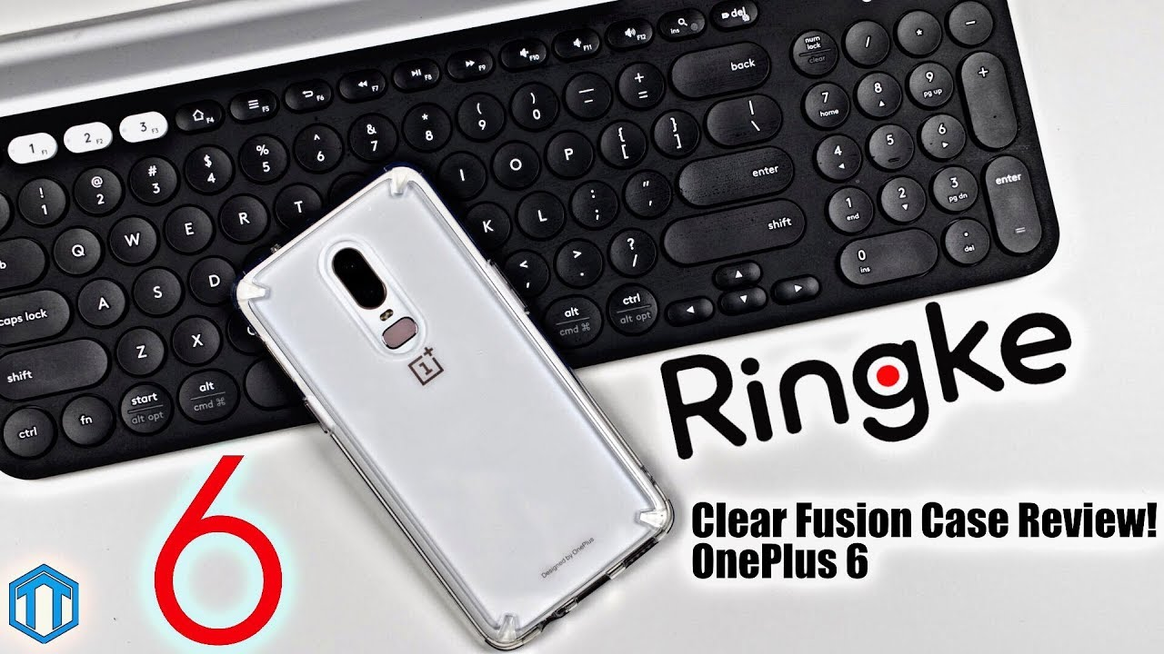 buy popular 228b1 fd991 OnePlus 6 Ringke Fusion Clear Case Review!