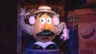 Mr. Potato Head Triumphant Return   Toy Story Land   Disney's Hollywood Studios