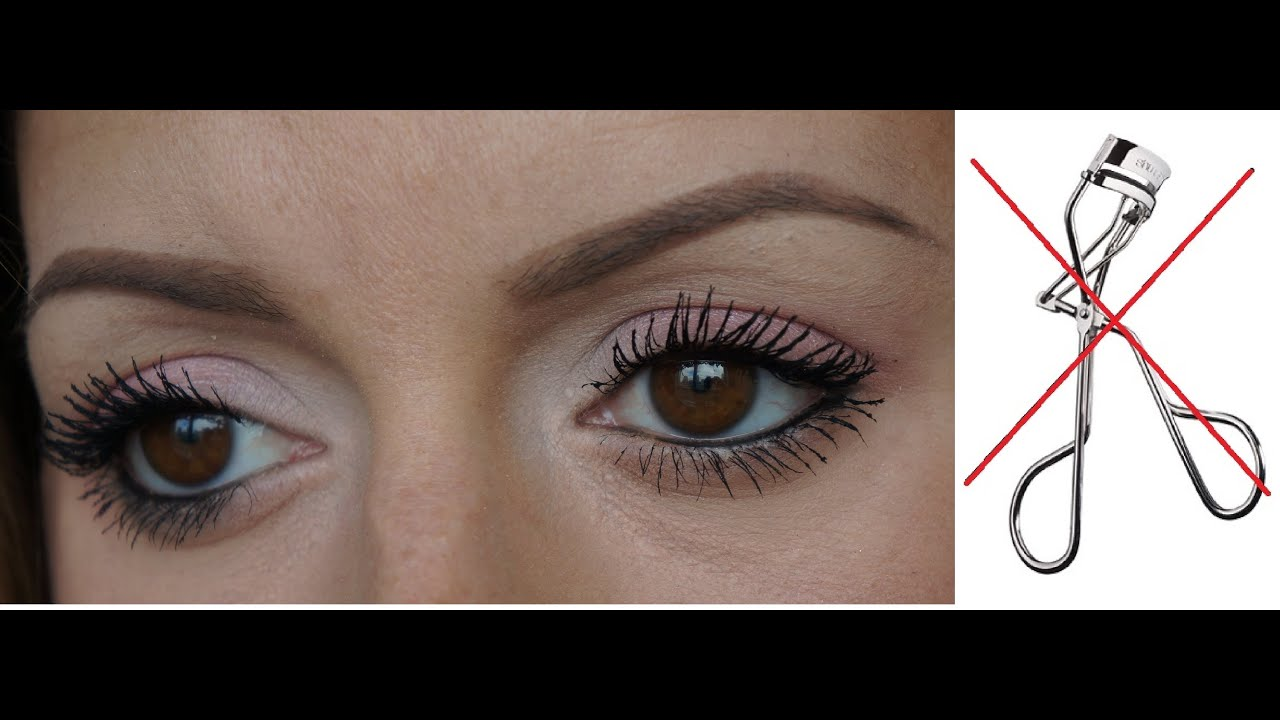 Sexy big lashes - How I curl my lashes without using a lash curler ...