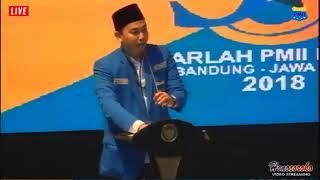 Harlah PMII ke-58   Ketua Umum PB PMII : Sampai Hari Kiamat INDONESIA Tidak Akan Hancur