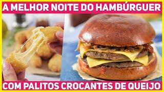 Hambúrguer Perfeito Com Acompanhamentos