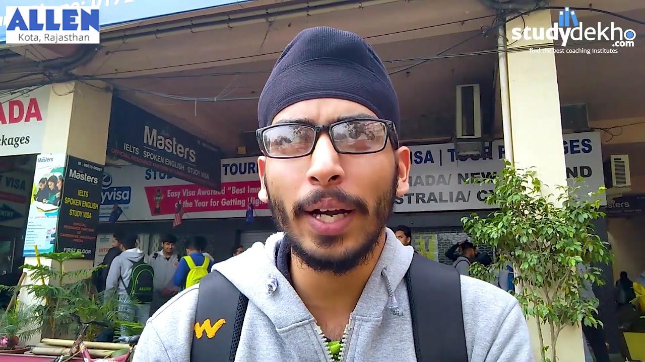 Allen Review | IIT-NEET | Best IIT-NEET Coaching Institute | Chandigarh |  Studydekho