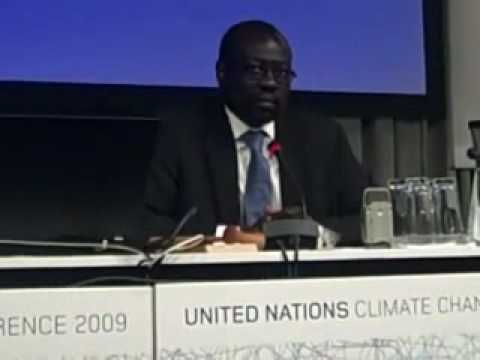 G77 countries' chief negotiator speaks to NGOs in Copenhagen - Pt. 3
