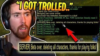 Blizzard TROLLS Everyone In Classic WoW Beta (WoW Classic Funny Moments #1)