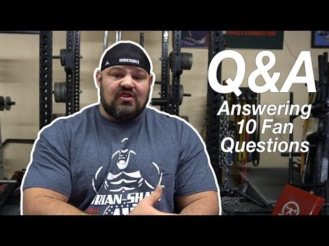 10 Questions with Brian Shaw