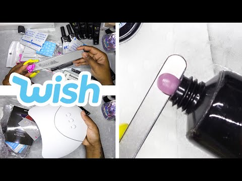 DIY Testing a Polygel Nail Kit from Wish