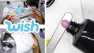 DIY Testing a Polygel Nail Kit from Wish