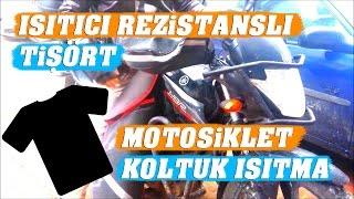 Motosiklet Koltuk Isıtma Montajı | Rezistanslı Tişört Yapımı