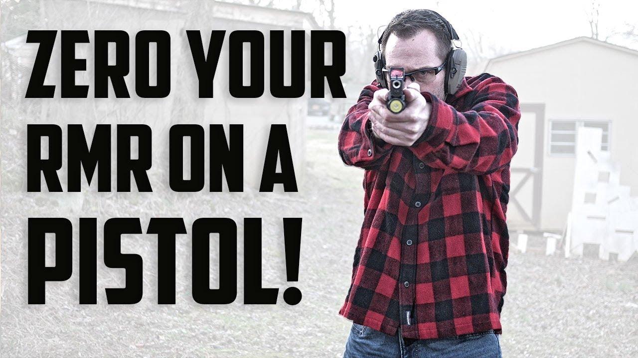 Zero Your RMR On Your Pistol! (Quick & Easy)