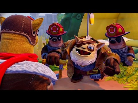 Skylanders: Trap Team - Operation: Troll Rocket Steal - Part 35