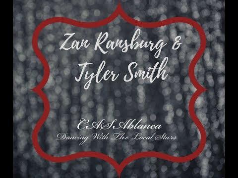 "Zan Ransburg & Tyler Smith 2017 CASAblanca ""Dancing with the Local Stars"" Practice"