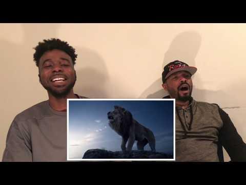 The Lion King Official Teaser Trailer Reaction