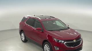 182806 - New, 2018, Chevrolet Equinox, LT, Red, SUV, AWD, Test Drive, Review, For Sale -