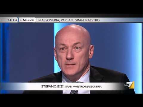 Otto e mezzo - Massoneria, parla il Gran Maestro (Puntata 07/04/2014)
