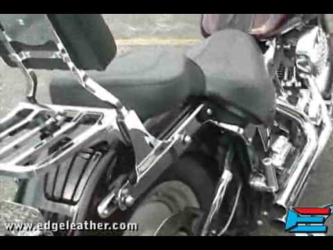 EDGE Brackets Quick Release Saddlebag System Installation with Mustang Hard Bags