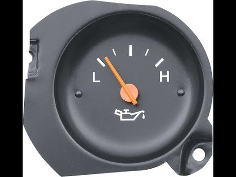 Oil sending unit and oil gauge test (For failing oil gauge reading)