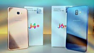 "Samsung Galaxy J6 Plus & J4 Plus ""BUDGET GALAXY"" - UNBOXING & First Look!"
