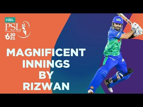Magnificent Innings By Rizwan   Multan Sultans vs Quetta Gladiators   Match 14   HBL PSL 6   MG2T