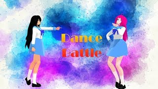 MMD X Aphmau Dance Battle