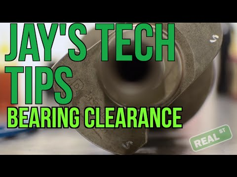 Jay's Tech Tips #8: Checking Bearing Clearance