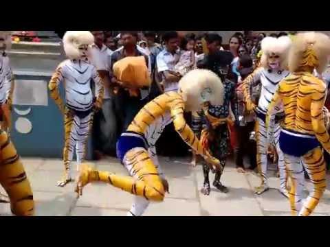 Pili Nalike (Tiger Dance) Mangalore