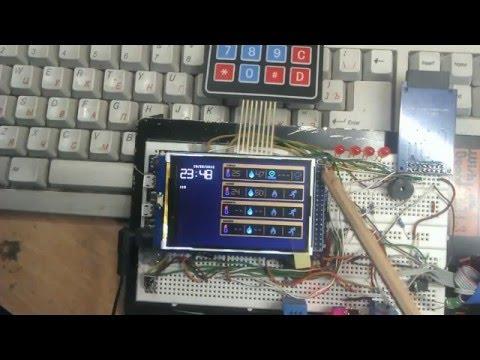 WEB Контроль на ARDUINO-DUE + TFT 3,2' + Датчики. Проект EliSe (часть 3)