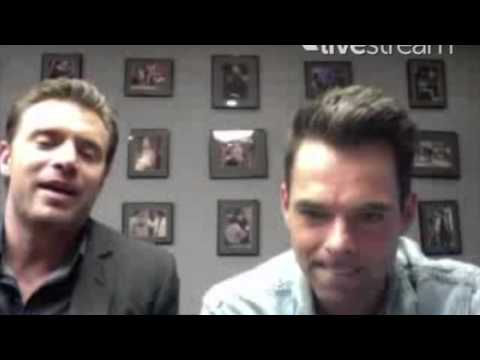 Billy Miller and JT on Kelly Monaco