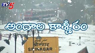 మంచు దుప్పటి కప్పుకున్న కశ్మీరం | Heaven on Earth: Seasonand#39;s First Snowfall in Kashmir