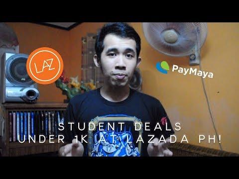 10 Student Deals Under 1K At Lazada PH!