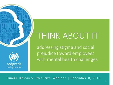 Webinar | Think About It: Mental Health and Stigma