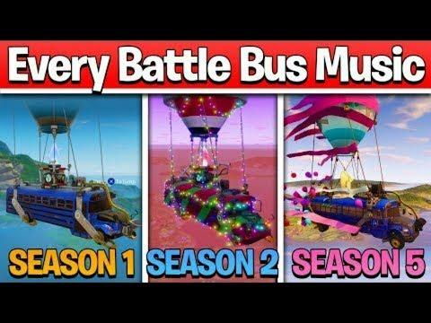 All Fortnite Battle Bus Theme Songs Season 1 Halloween