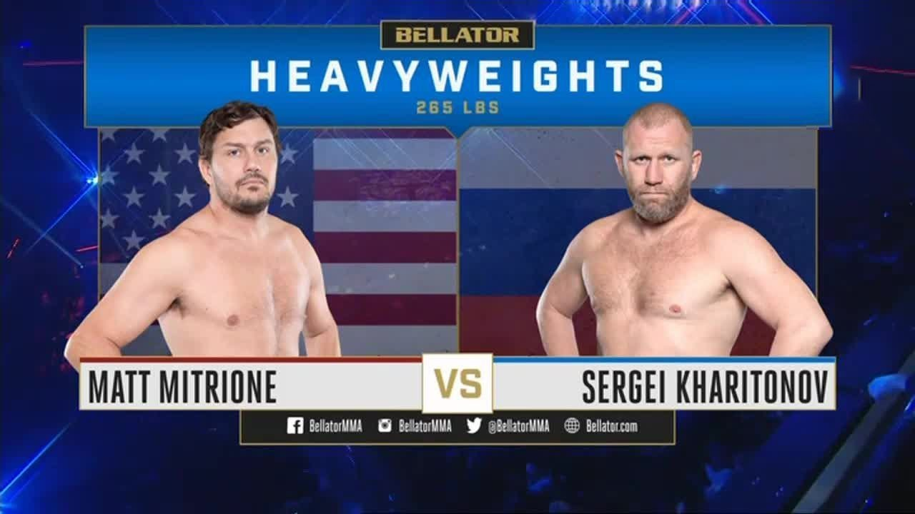 Сергей Харитонов - Мэтт Митрион / Kharitonov vs. Mitrione - Video