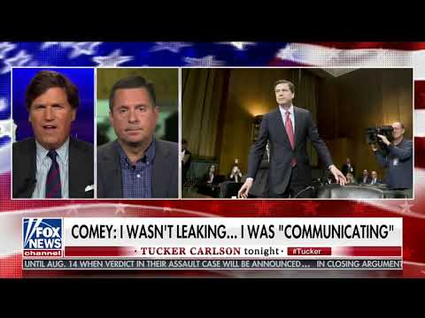 Ranking Member Nunes addresses Comey criminal referral for leaking classified info