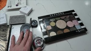 Палетка Z palette & Sephora  .Организация и хранение косметики. Хорошо или плохо? Тени, Хайлайтер.