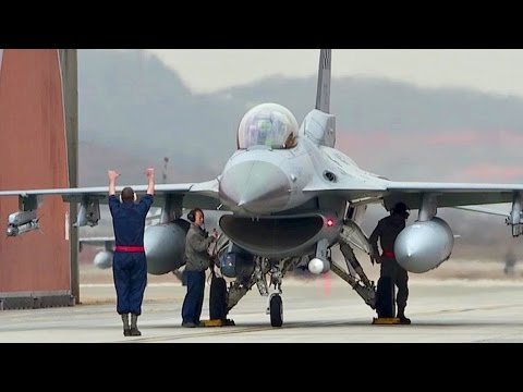 USAF F-16 Fighting Falcons Operations @ Osan Air Base, South Korea