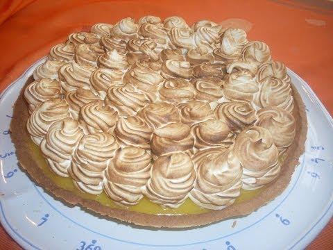 Comment faire la vraie tarte au citron meringuée?