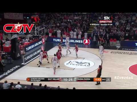 Play of the game: BC Crvena zvezda team work