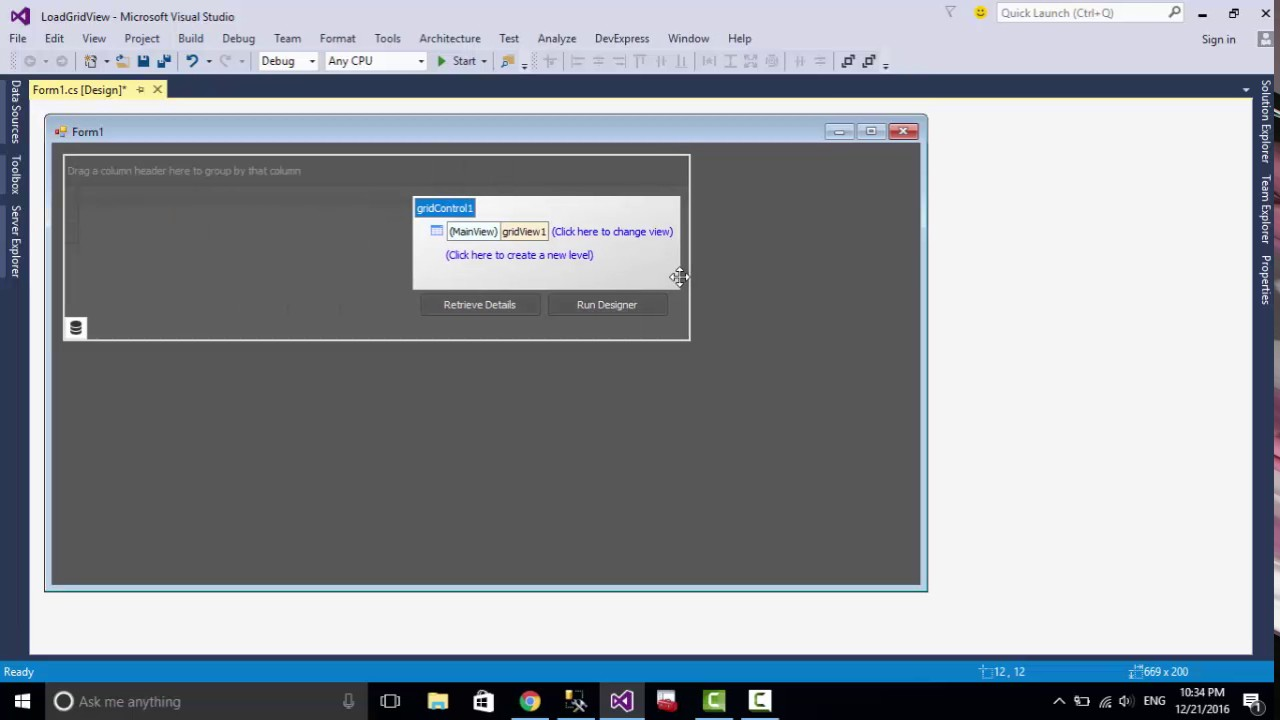 DevExpress Load GridControl - Khodor Shahimi