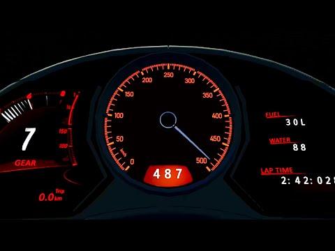 Bugatti La Voiture Noire  0-488 KM/H TOP SPEED - Drag Race 20 KM