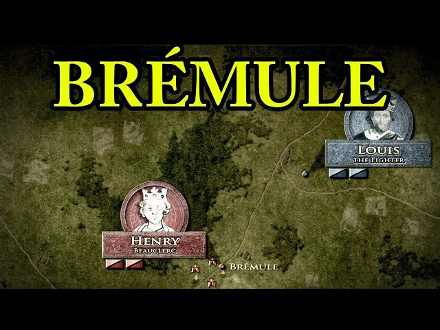 The Battle of Bremule 1119 AD