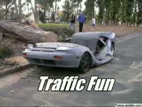 Traffic Fun-kuriozuli avariebi