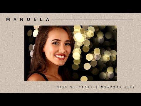 Miss Universe Singapore 2017: Manuela Bruntraeger