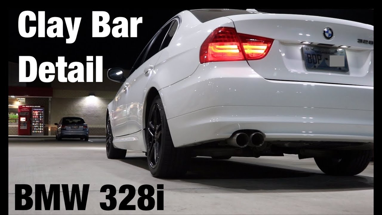 How to Clay Bar a BMW 328i Meguiar's Clay Bar Kit