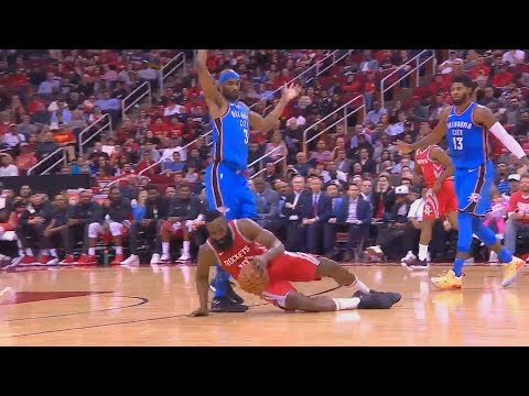 James Harden Gets Bullied By Corey Brewer!