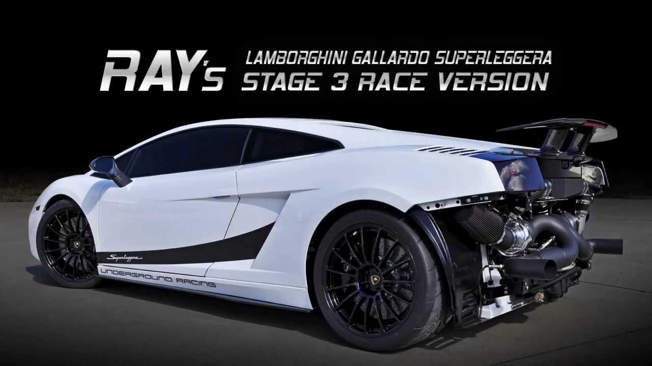 Underground Racing 2000 Rwhp Stage 3r Twin Turbo Lamborghini